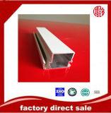 Profilo anodizzato argento di alluminio per Finestra-Portello-Polvere-Rivestimento-Anodizzare