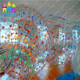 Sfera gonfiabile di Moonwalker Zorb di rotolamento di calcio della sfera della bolla del corpo della sfera dell'erba del PVC di Finego