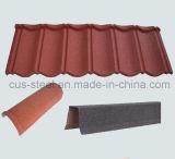 Toiture en pierre enduite de tuile de toit de pierre classique/en métal de couleur