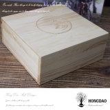 Hongdao подгоняло деревянную коробку фотоего для _E подарков венчания
