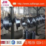 Glissade de JIS 5k sur la bride de pipe en acier de soudure
