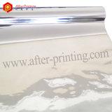 Металлизированная серебром слипчивая полиэстровая пленка