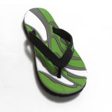 Pvc Men Slippers van Fashion The Colours Streak voor Hot Sale Flip Flops
