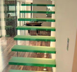 Стекло противоюзовых стеклянных лестниц хорошего качества прокатанное