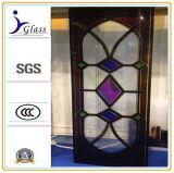 6mm de seguridad transparente de vidrio templado laminado para edificios comerciales
