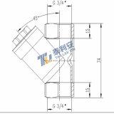 Стрейнер нержавеющей стали высокого качества встроенный (T1082)