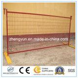 金網の塀の塀/使用された一時塀