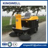Mini veicolo ricaricabile di pulizia della via della spazzatrice di strada da vendere (KW-1050)