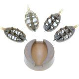 Amorce de fil de bâti de pêche de carpe d'outil de câble d'alimentation de moulage d'amorce au sol