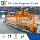 Filtre-presse automatique de chambre de haute performance pour le traitement des eaux résiduaires
