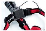 Léger Xml crie T6 Projecteur à LED avec batterie arrière cas pour 2X18650 ou 3AAA