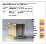 El 755nm/1064nm/808nm más nuevo 3 en 1 máquina del retiro del pelo del laser del diodo
