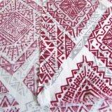女性の着ることのための印刷されたレーヨンファブリック明白な織り方