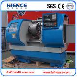 Het Oppoetsen van het wiel CNC van de Reparatie van de Rand van het Wiel van de Legering van de Machine Draaibank Awr2840
