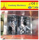 Máquina de cantilização de borracha com descarga inclinável