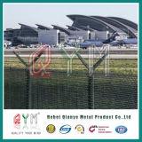 Авиапорт высокия уровня безопасности ограждая обеспеченную загородку авиапорта предохранения от периметра