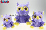 Anerkannter Spielzeug-grosser Augen-Plüsch-spielt purpurrotes Flusspferd-Tier der Förderung-En71 Bos1170