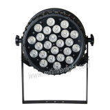 24*12W Rgbaw+UV 6 in 1 indicatore luminoso esterno di PARITÀ