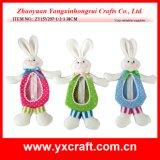 부활절 훈장 (ZY14C869-1-2) 부활절 장식적인 토끼