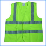 Chaleco reflectante para el mantenimiento de caminos de trabajo de seguridad