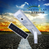 IP65는 한세트 태양 강화한 가로등 40W를 방수 처리한다