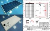 module polycristallin de picovolte du panneau solaire 250W avec la certification de la FCC TUV de RoHS de la CE