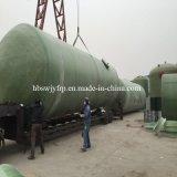 Tanque da embarcação de armazenamento da pressão da alta qualidade FRP GRP
