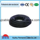 3 Core eléctrico plano Gris Cable de color para los países africanos