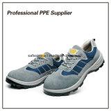 De alta calidad de cuero auténtico estándar de seguridad zapatos de trabajo Ce