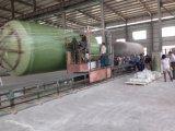 GRPタンク巻上げ機械、GRPタンク生産ライン
