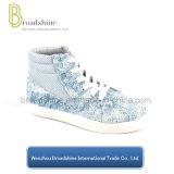 Última Jean superior do tornozelo mulheres sapatos de Inverno 2018