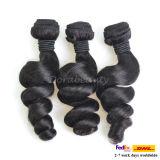 Commerce de gros lots non transformés vierge brésilien Cheveux humains Le Tissage de cheveux