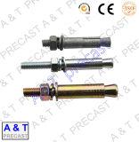 Aços de carbono/parafuso aço inoxidável/parafuso prisioneiro (m5) com alta qualidade
