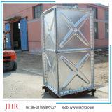 Tanque de água galvanizado aço montado pressionado
