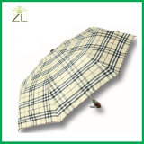 Оптовая продажа зонтика дешево выдвиженческого выполненного на заказ печатание изготовления Китая складывая с логосом для рекламировать