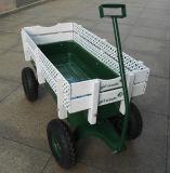 Herramienta para el jardín tirar del carro de carga