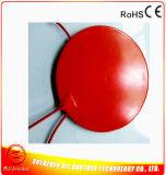 Calefator redondo 300mm da borracha de silicone