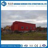 Almacén de acero del taller de acero del diseño con el panel de emparedado