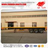 экспорт трейлера контейнера 20FT 40FT планшетный Semi к Танзании