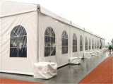 結婚披露宴のための贅沢な屋外の玄関ひさしのテント