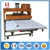 Doppia stampatrice semiautomatica del tessuto di trasferimento della pressa di calore di posizione