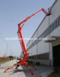 CE Aprovado Towable Hydralic Trailer Telescopic Boom Lift Truck