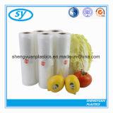 Жара - мешок еды HDPE уплотнения естественный плоский пластичный на крене