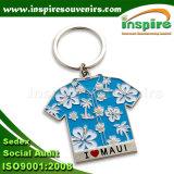 Buitensporige Metaal Aangepaste T-shirt Keychain