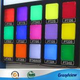 Feuille de plastique de couleur différente de l'acrylique