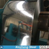 La INMERSIÓN caliente de Dx51d 52D galvanizó la bobina de acero para el material de construcción