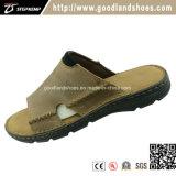 Новый летний повседневный Бич тапочки верхней части Кожаные босоножки обувь 20039