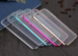 Los productos calientes TPU + Alu parachoques híbrido 2 en 1 caja del teléfono móvil para el iPhone 6 / Samsung S7 / S6 etc.
