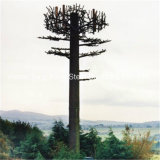 鋼管の電気通信のアンテナによってごまかされるMonopole松の木の通信塔