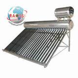 Calentador de agua solar de silicio de los anillos